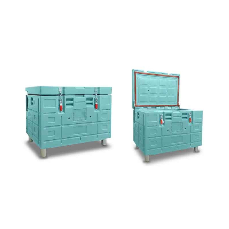 Homologated isothermal container with top opening BAC 320