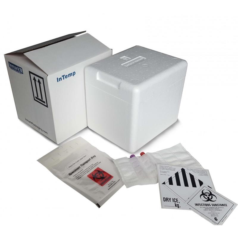 "Infectious substances transport box (Cat. ""A"")"