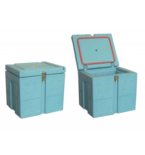 Homologated isothermal container with top opening BAC55