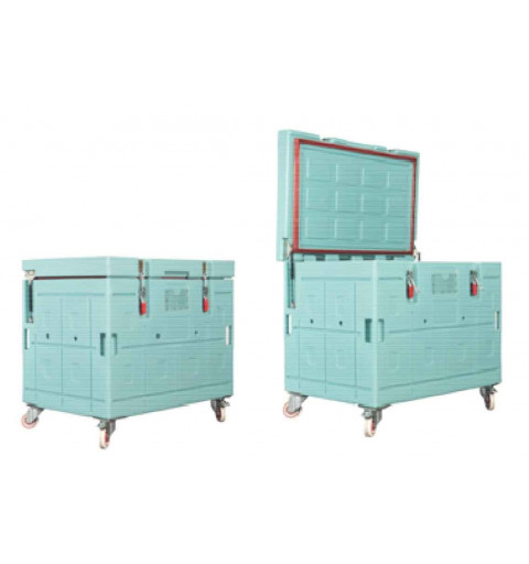 Homologated isothermal container with top opening BAC 420
