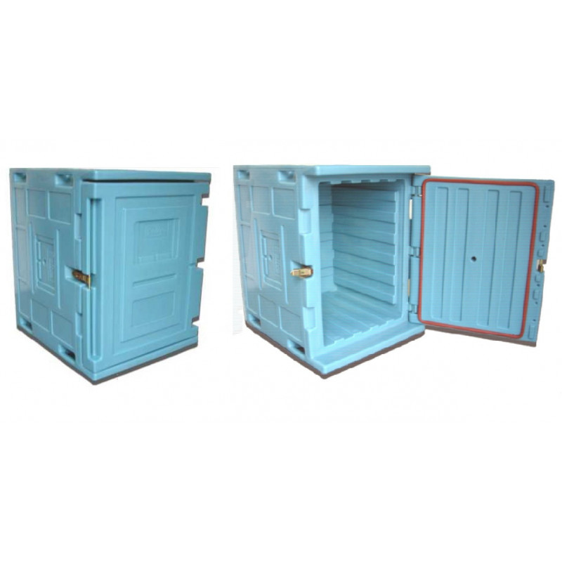 Homologated isothermal container with front opening ROLL130