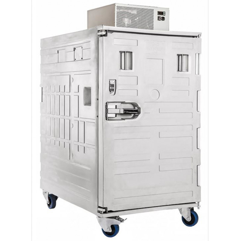 copy of ROLL1100 - Isothermal homologated container with front opening