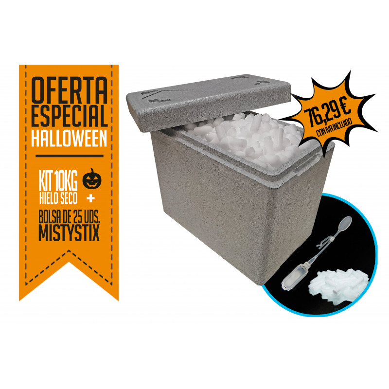 Dry Ice 5 Kg. Kit